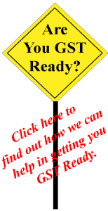 GST Ready sign