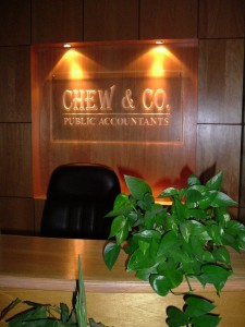 Chew & Co's Reception